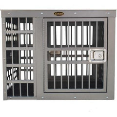 Zinger Professional Series Dog Crate - Side/Side Entry (Offset), Zinger - DogkennelsUSA.com