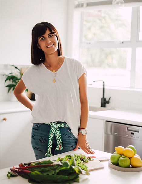 Sarah Tanner Plant based cooking