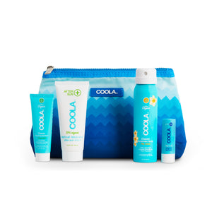 Organic Suncare 4pc Travel Set