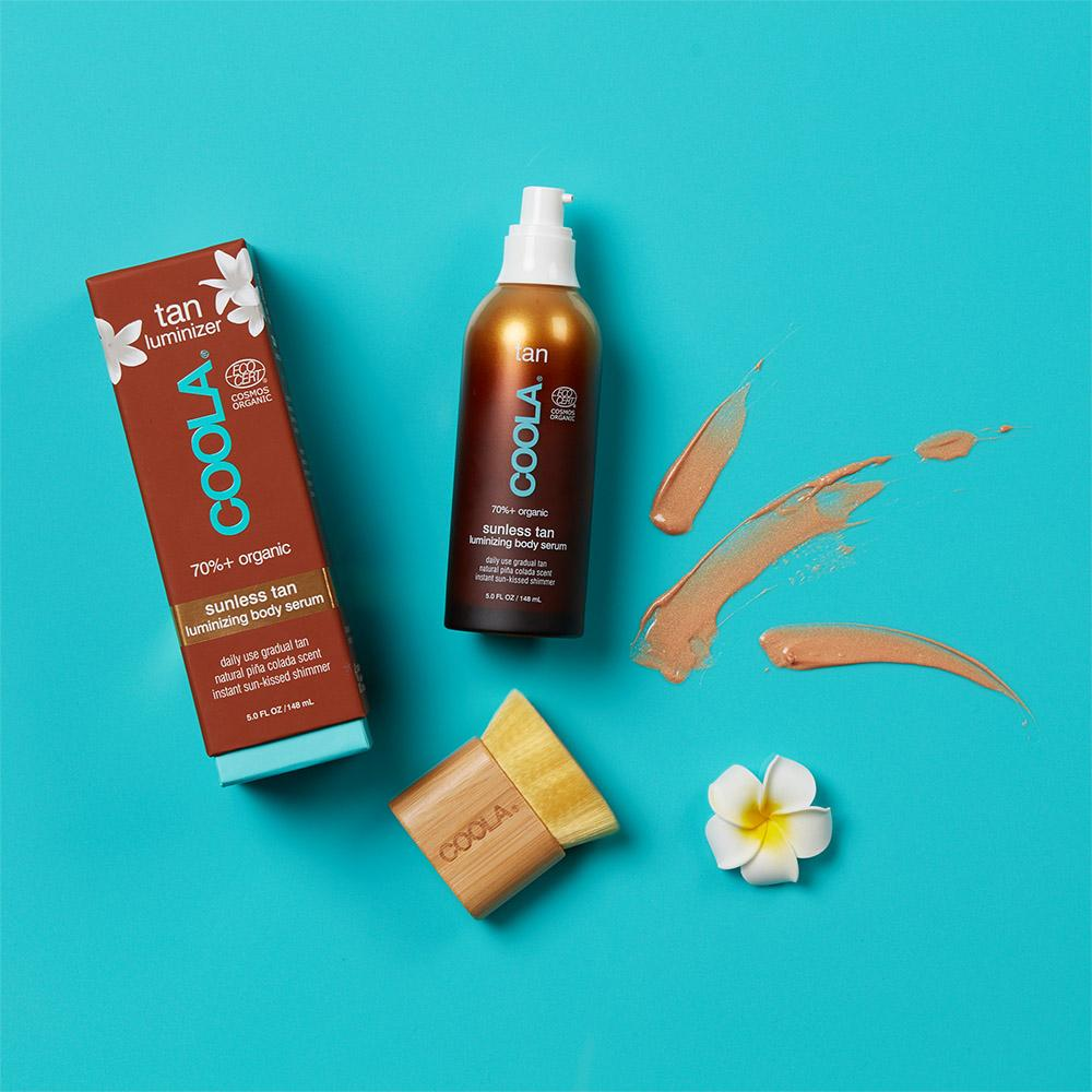 Organic Sunless Tan Luminising Body Serum