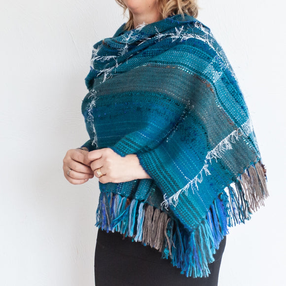 Wrapt in New Zealand Shawls