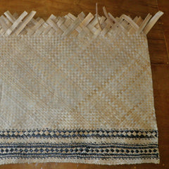 Pae and raurahanga, body and border of a Cook Islands floor mat