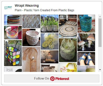 Inspiration for plastic yarn projects