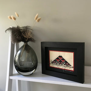 Taniko New Zealand Landscape Needlework Rangitoto Island