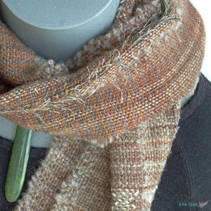 Kiwi Scarf crafted by Wrapt in New Zealand
