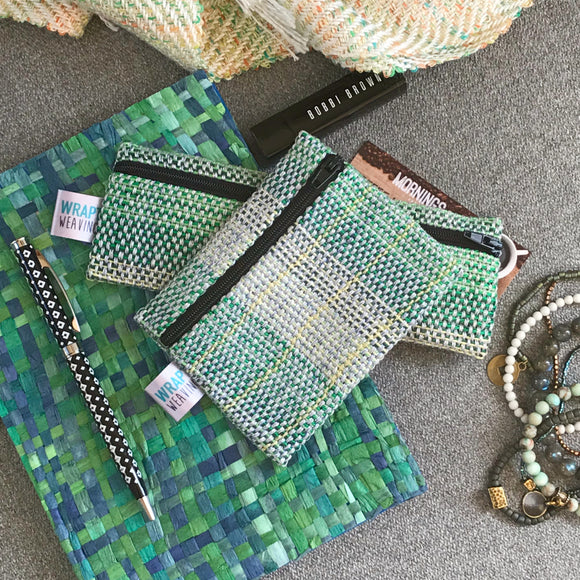 Green Coin Purse or Small Pouch