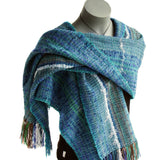 Tui wrap handwoven from New Zealand yarns by Wrapt in New Zealand