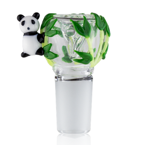 Empire Glassworks Panda Bowl - Ghost Smoke
