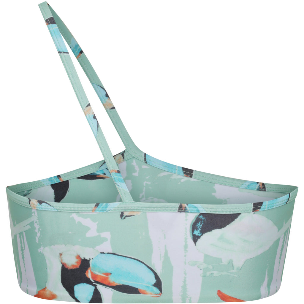 MAYA TOP- TOUCAN PRINT - Tshala Swim.