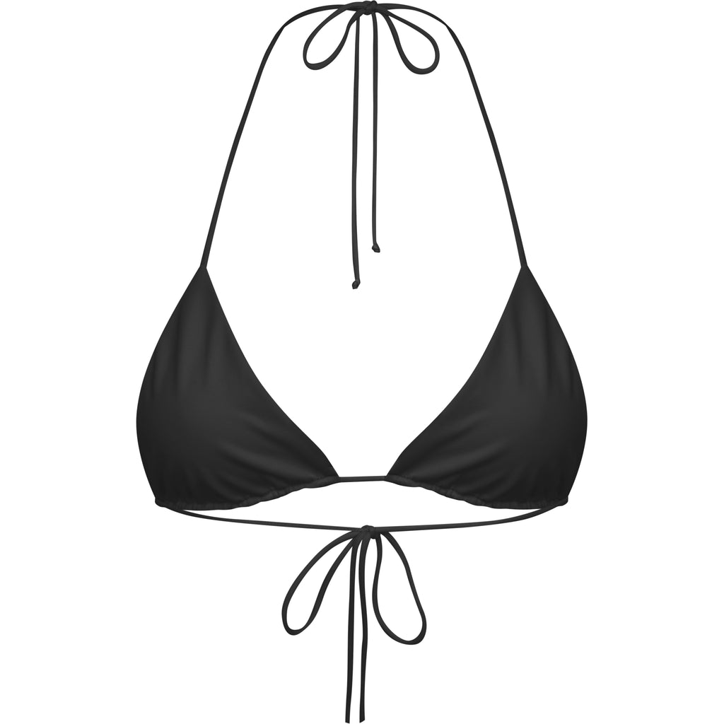 HENDA TOP- BLACK - Tshala Swim.