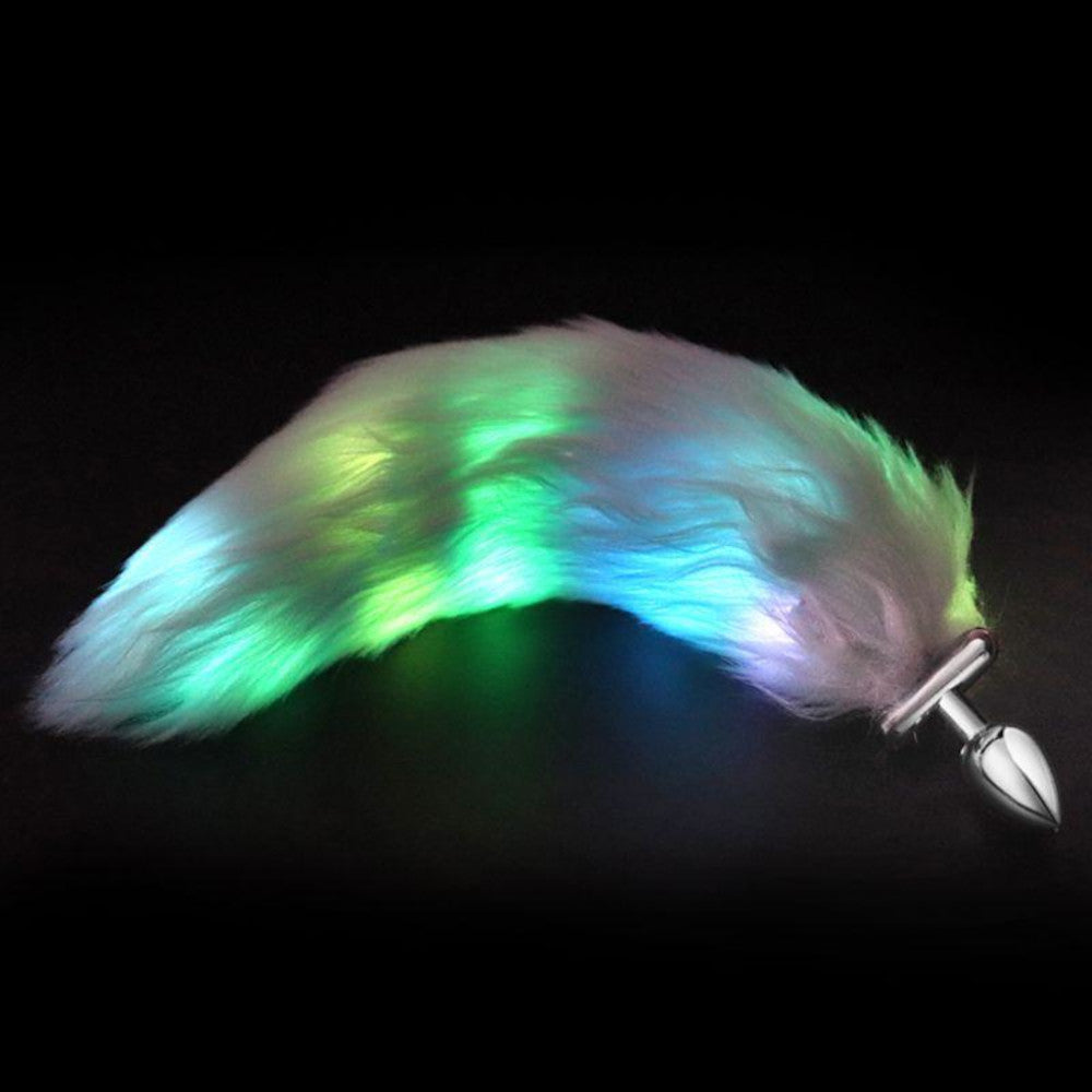 Shapeable LED Tail Plug, 3 Colors