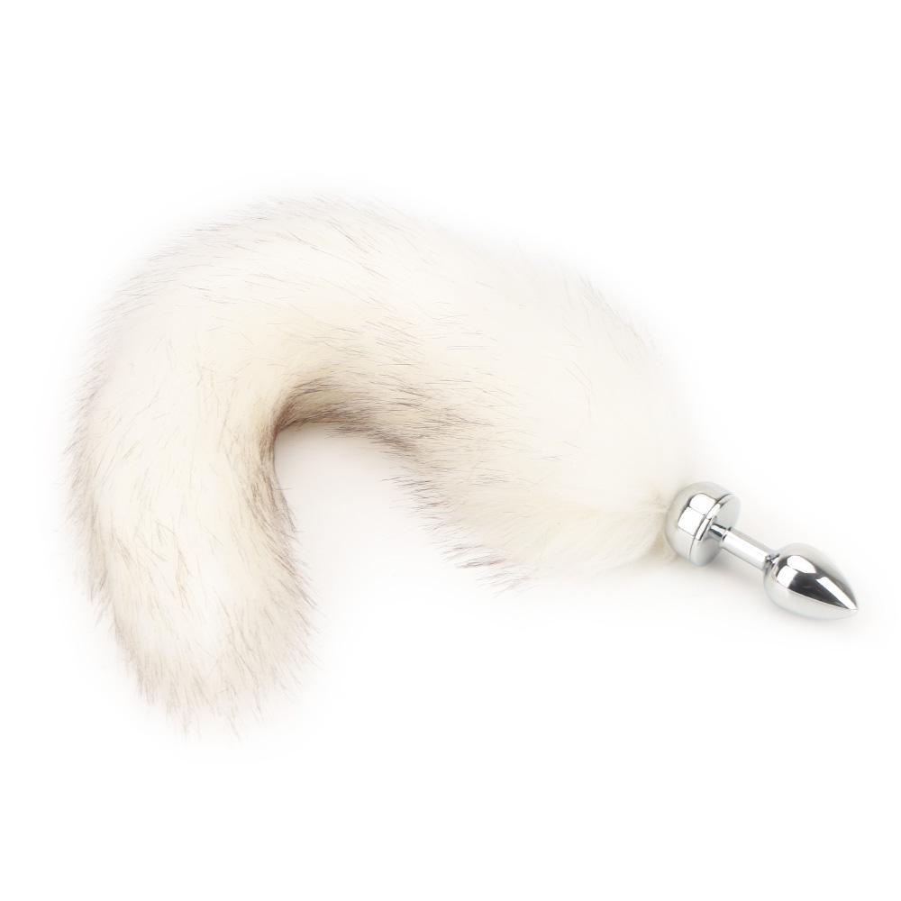 Magnetic Fox Tail Butt Plug, 4 Colors!