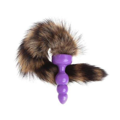 "12"" Raccoon Tail Silicone"
