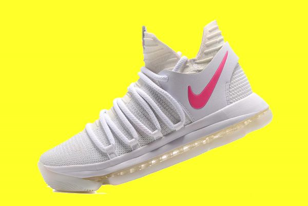 reputable site f9b3e b7ae3 ... buy nike kd 10 white pink glow in the dark for sale b89f7 61bd4