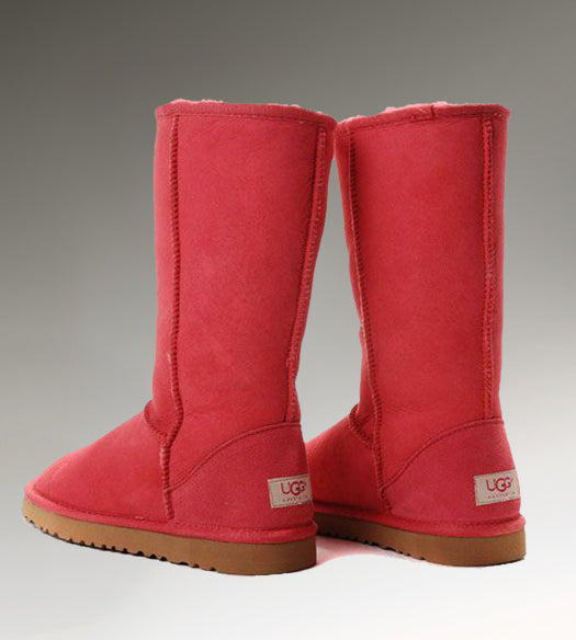 08d4cd678b3 Ugg Classic Tall 5817 Red Boots