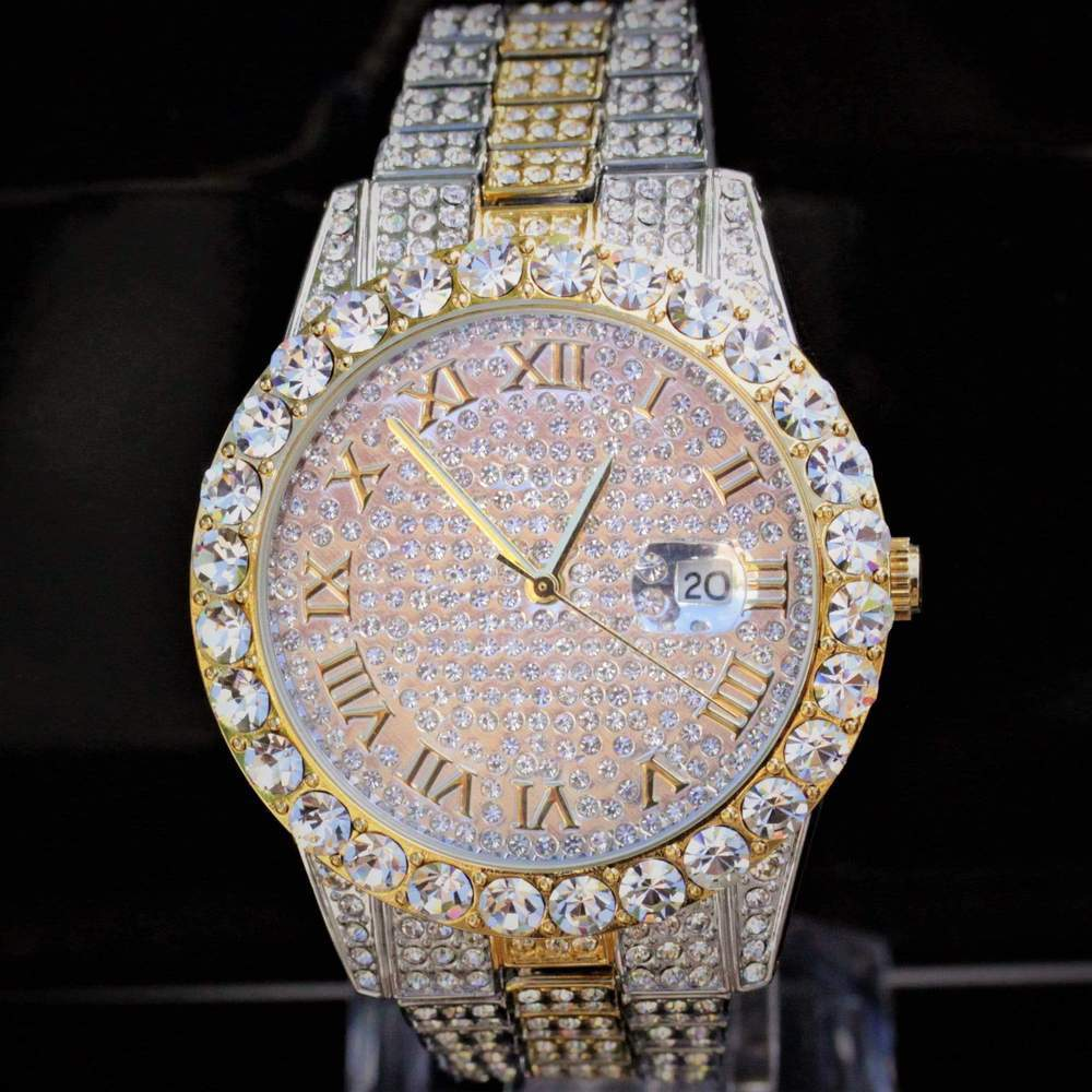 Iced Out V5 Two Tone Watch GSG