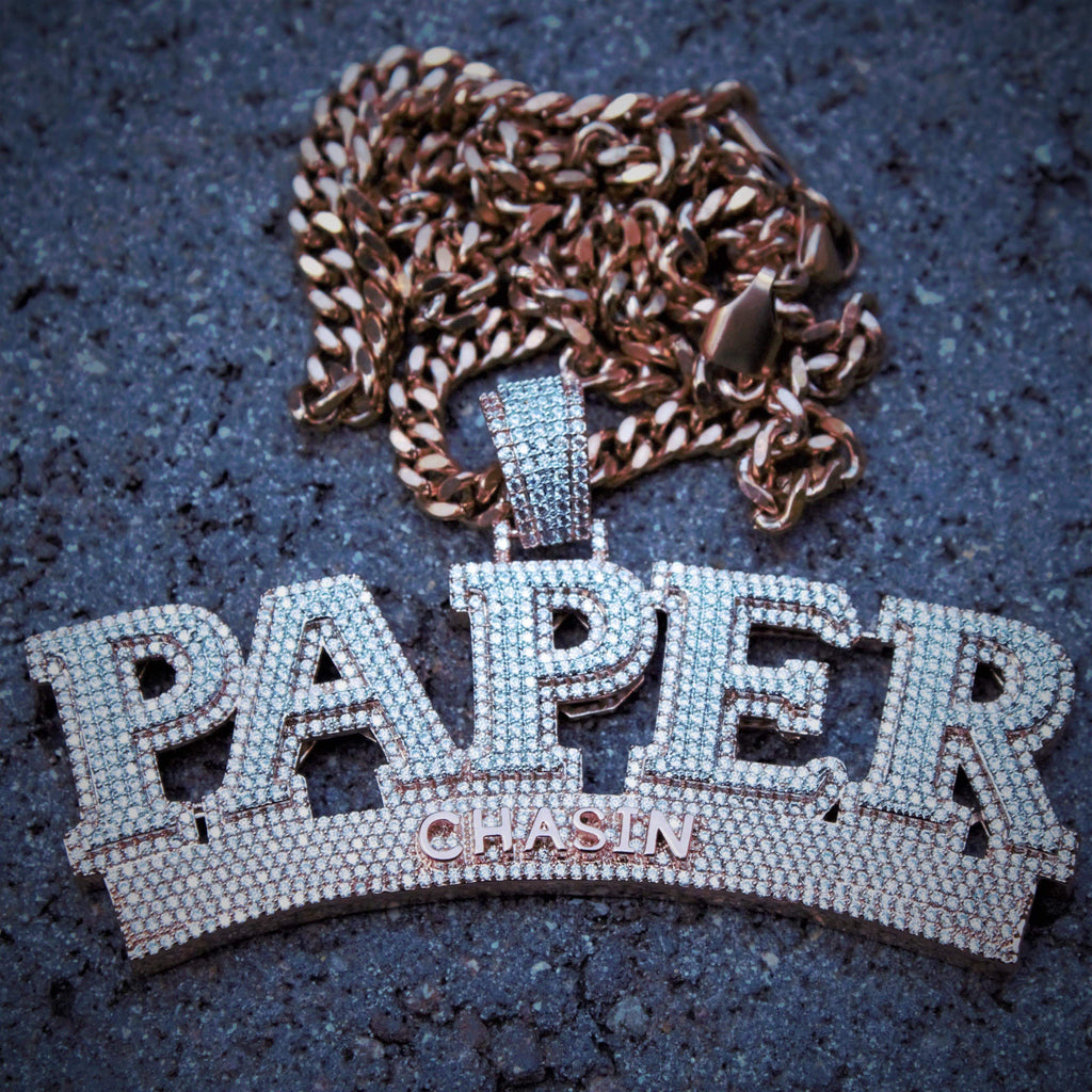 Paper Chasin Icedout Pendant GSG
