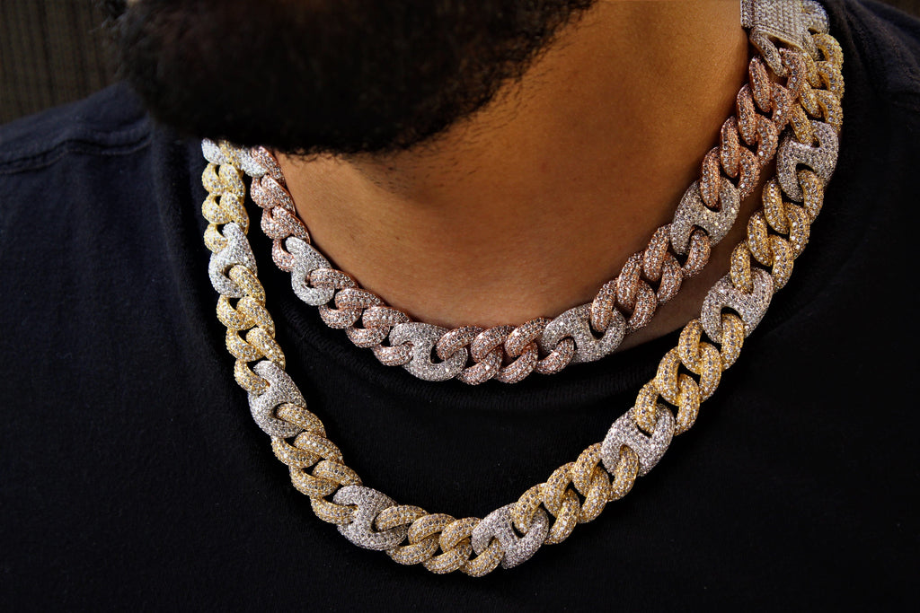 15mm Cuban Link and Gucci Link Chain GSG
