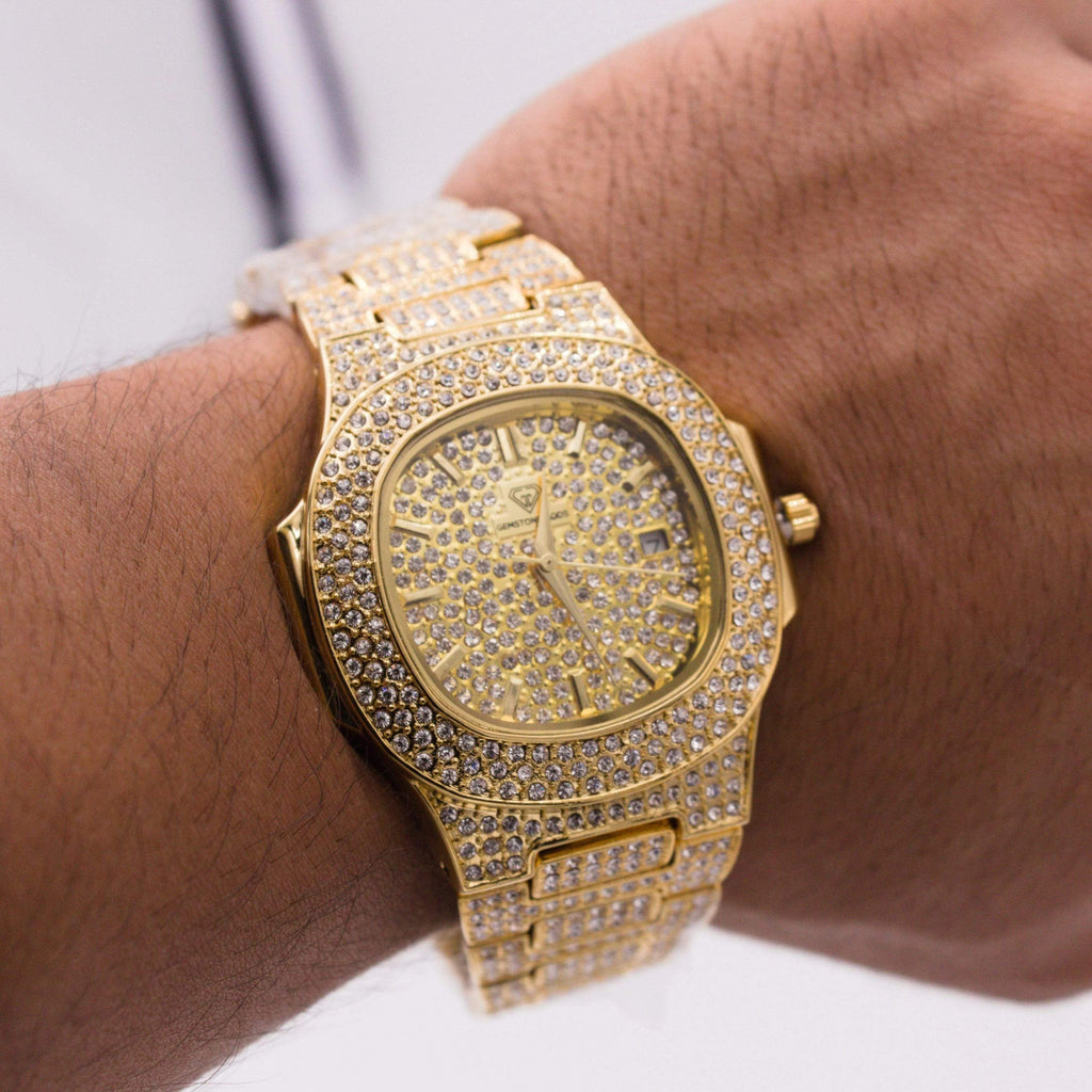 Diamond Watch Bust Down CZ V1 GSG