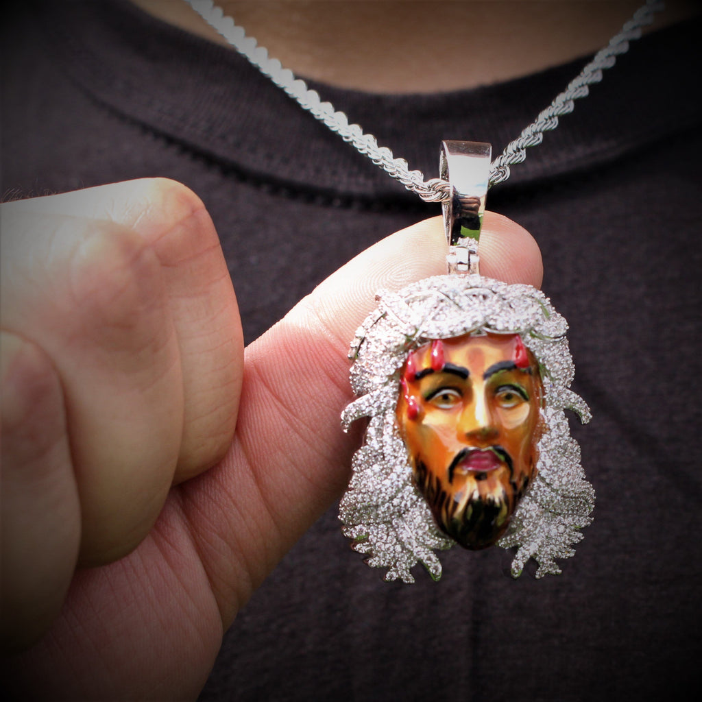 Jesus Face Necklace GSG