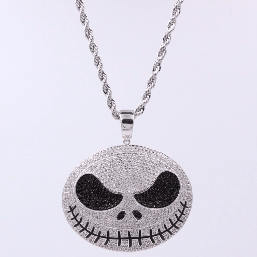 Jack the Skeleton Icedout Pendant GSG