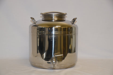 15 Litre Stainless Steel Container