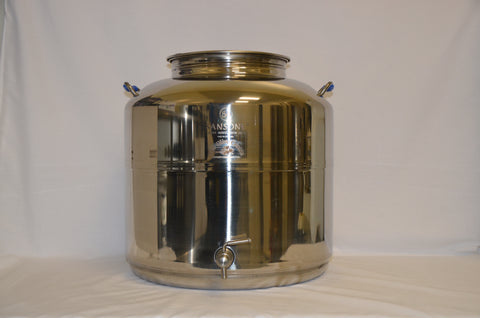 30 Litre Stainless Steel Container