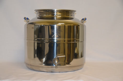 50 Litre Stainless Steel container