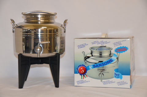 5 Litre Stainless Steel Container