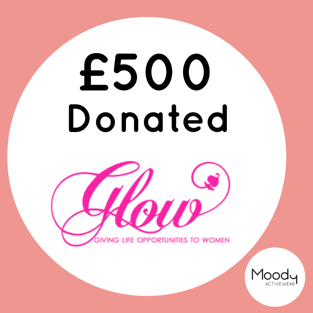 Second Donation - £500 - GLOW NI!