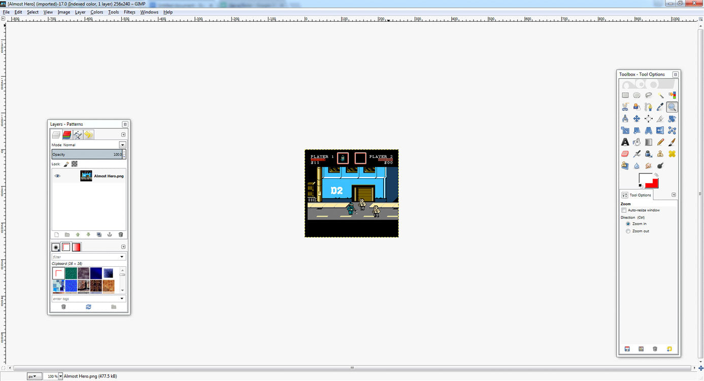 Creating NES Graphics