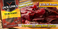 Jerky 150g (12/box) - Discount Wholesale Prices!