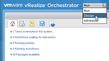 Import/Export a Workflow Package in VMware vRealize