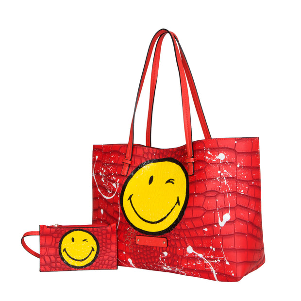De Smiley Edition (Red Tote)