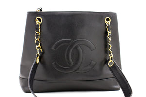 CHANEL Boy Caviar Wallet On Chain WOC W Zip Chain Shoulder Bag p45-Chanel-hannari-shop