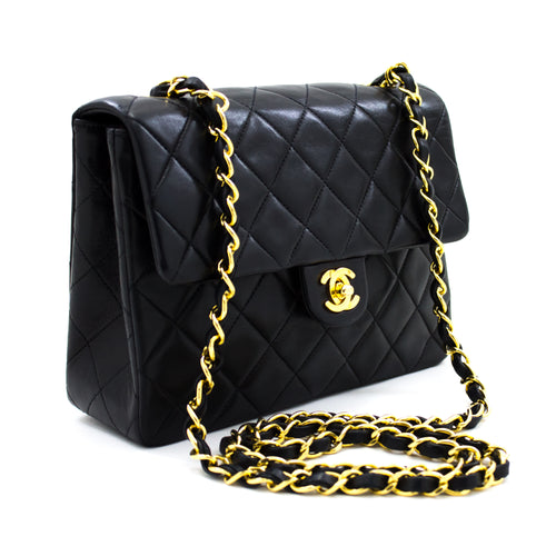 CHANEL Mini Square Maile Chain Shoulder Bag Mea Hou Keʻena ʻĀpoki u49 hannari-shop