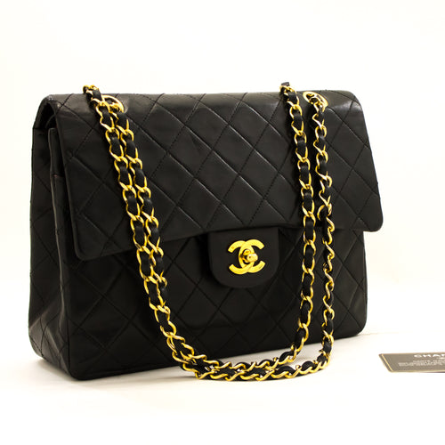 CHANEL 2.55 Double Flap Square Chain ejika apo dudu Lambskin y63 hannari-shop