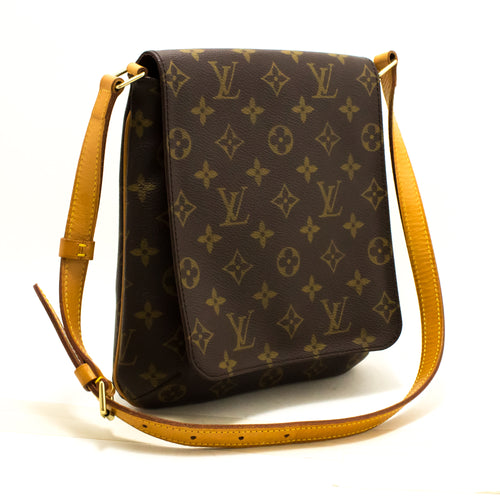 Louis Vuitton Monogram Musette Salsa Short Strap Shoulder Bag Q69
