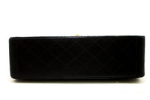 "CHANEL Jumbo 13 ""Maxi 2.55 Наплечная сумка з ланцужком XL Чорная Lamb R72-Messenger & Cross Cross плечавая сумка"