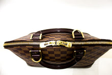 Louis Vuitton Damier Ebene Alma Bag Handbag Canvas Leather Box L21-Louis Vuitton-hannari-shop