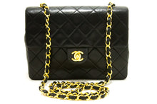 CHANEL Mini Square Small Chain Shoulder Bag Crossbody Black Purse s02-Shoulder Bag-hannari-shop