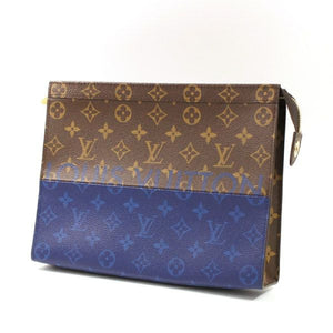 לואי ויטון Pochette Voyage MM תיק מצמד Mens M63066 69872522 Hannari-shop