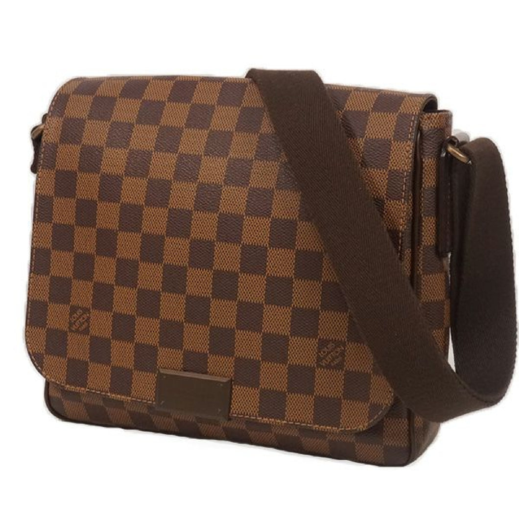 LOUIS VUITTON District PM unisex shoulder bag N41213 Damier ebene 69804386 hannari-shop