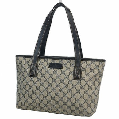 GUCCI GG plus shoulder Womens tote bag 211138 beige x Navy 69777820 hannari-shop