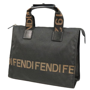 FENDI logo Womens tote bag black 69721626 hannari-shop