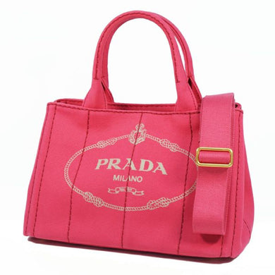 PRADA Canapa2WAY Womens tote bag B2439G Peonia( pink) 69720267 hannari-shop