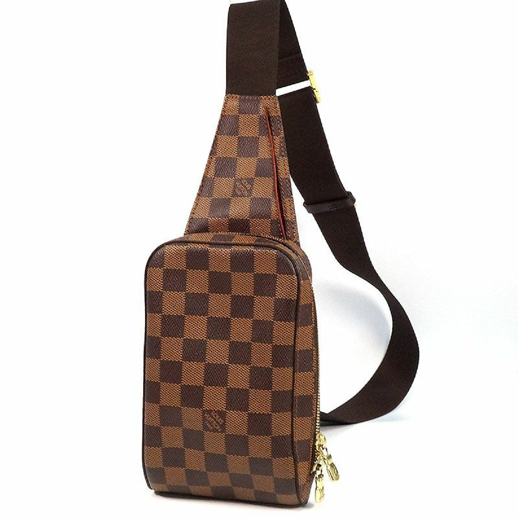 LOUIS VUITTON Geronimos unisex body bag N51994 Damier ebene 69715184 hannari-shop