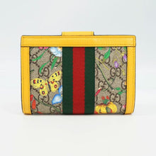 GUCCI Flora Ophidia unisex passport case 598914 yellow 69703385 hannari-shop