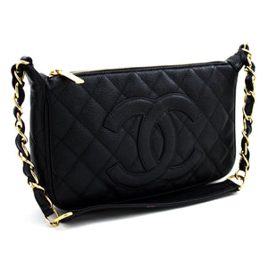 CHANEL Caviar Mini Small Chain One ejika apo dudu Quilted x69 hannari-shop