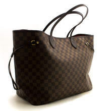 Louis Vuitton Damier Ebene Neverfull GM Shoulder Bag Canvas R87-Louis Vuitton-hannari-shop